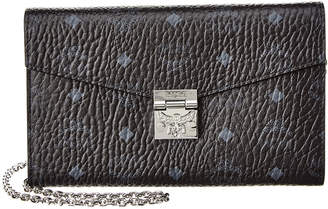 MCM Patricia Large Visetos Wallet On Chain