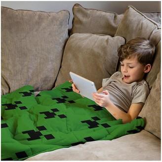 Minecraft Rest Easy Sleep Better Weighted Blanket