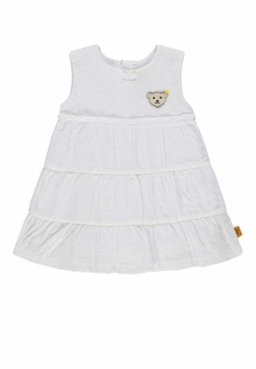 Steiff Baby Girls' Kleid o. Arm Dress