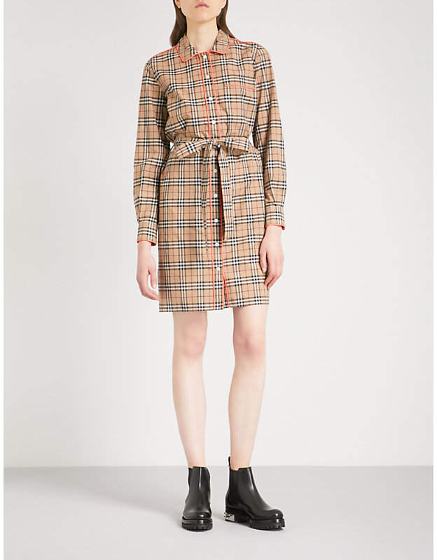 Burberry Brooke cotton shirt dress