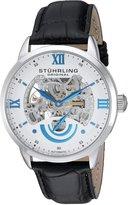 Stuhrling Original Men's 574.01 Symphony Aristocrat Executive II Automatic Skeleton Dial Watch