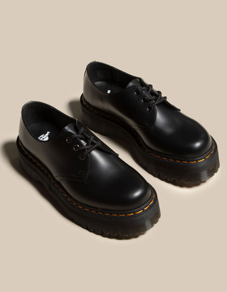Dr. Martens 1461 Smooth Leather Womens Platform Shoes
