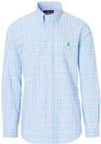 Big & Tall Polo Ralph Lauren Plaid Cotton Poplin Shirt