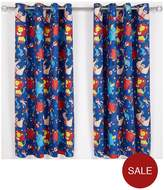 Catherine Lansfield Circus Fun Eyelet Curtains