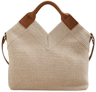 Seed Heritage Paper Straw Tote