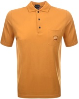 Paul & Shark Paul And Shark Short Sleeved Polo T Shirt Orange