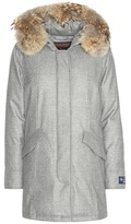 Woolrich Arctic fur-trimmed virgin wool and cashmere parka