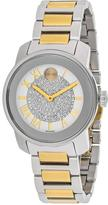 Movado Bold 3600256 Women's Two-Tone Stainless Steel Watch with Crystal Accents
