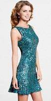 Scala Amazing Cut Out Sequin Cocktail Dresses