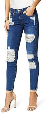 Ramy Brook Naomi Ripped Jeans in Medium Wash