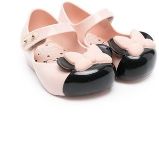 Mini Melissa Minnie Mouse jelly ballerinas