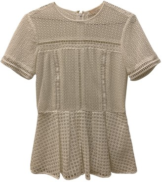 Michael Kors White Lace Top for Women