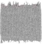 MSGM Distressed Wool Blend Tube Scarf