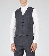 Reiss Reiss Host W - Wool Modern Waistcoat In Blue, Mens