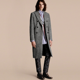 Burberry Herringbone Wool Mohair Alpaca Blend Chesterfield
