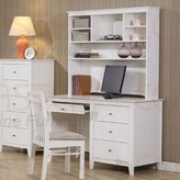 Beachcrest Home Clarendon Computer Desk with Hutch