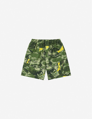 Billionaire Boys Club Camouflage-print cotton cargo shorts