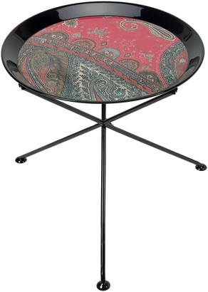 Etro Voyage Au Rajasthan Round Table - Small - Red