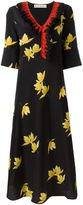Marni Dawntreader ruffled dress - women - Silk - 42