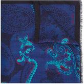 Etro frayed edge scarf - men - Modal - One Size