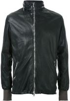 Giorgio Brato zip detail leather jacket