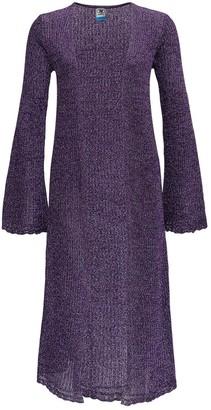 M Missoni Metallic Rib Knit Cardigan