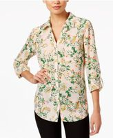 NY Collection Utility Blouse