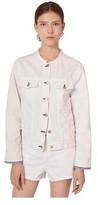 Rag & Bone Women's Collarless Denim Jacket