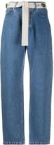 Couture Forte Dei Marmi high rise straight leg jeans