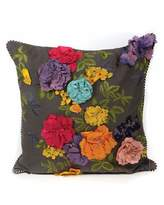 Mackenzie Childs MacKenzie-Childs Covent Garden Floral Pillow