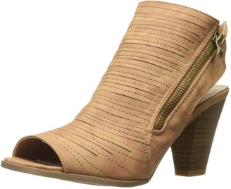 Two Lips Women's Too Presley Flat Sandal Tan 9 M US