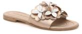 Kennel + Schmenger Kennel & Schmenger Floral Leather Flat Sandal