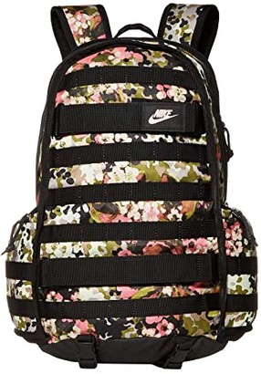 Nike RPM All Over Print Backpack (Cedar/Black/White) Backpack Bags