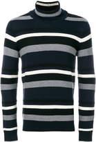 Paolo Pecora striped turtleneck jumper