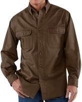 Carhartt Heavyweight Cotton Shirt - Long Sleeve (For Men)