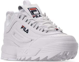 Fila Women Disruptor Ii Premium Casual Athletic Sneakers from Finish Line