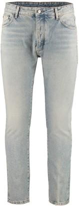 Palm Angels Straight Leg Jeans