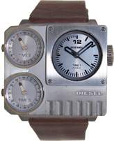 Diesel Men's DZ7249 Brown Leather Quartz Watch with Dial