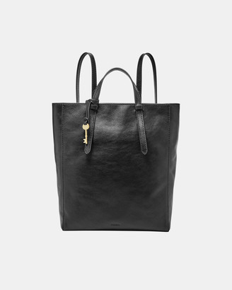 Fossil Women's Black Backpacks - Camilla Black Backpack - Size One Size at The Iconic