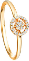 Astley Clarke Mini Icon Aura 14ct yellow-gold and diamond ring