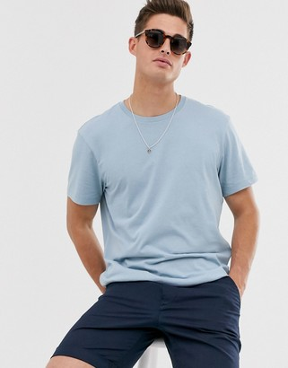 J.Crew Mercantile J Crew Mercantile slim fit crew neck t-shirt in danube blue