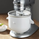 Crate & Barrel KitchenAid ® Stand Mixer Ice Cream Maker Attachment