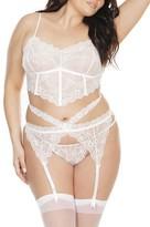 Coquette Plus Size Lace Bra & Panty Set