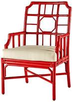 Selamat Regeant Armchair - Antiqued Red