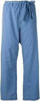 Hache loose-fit trousers - women - Cotton - 40