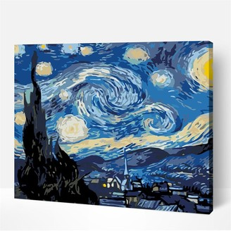 Artwille DIY Paint by Numbers Acrylic Painting Kit - Starry night