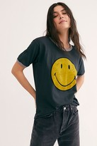 Daydreamer Classic Smiley Ringer Tee by at Free People