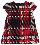 Tartine et Chocolat Girls' Textured Plaid Dress - Baby