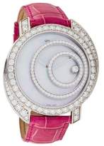 Chopard Happy Spirit Watch w/ Mother of Pearl Dial