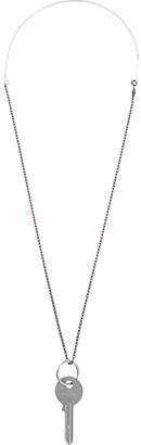 Maison Margiela key pendant long necklace